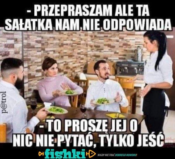 W restauracji