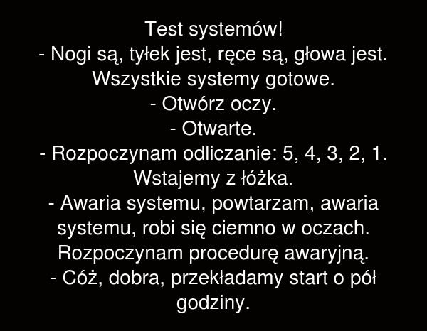 Test systemów
