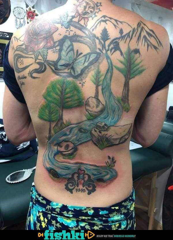 Takich tatuaży chyba nie chcieli - zdjęcie 1
