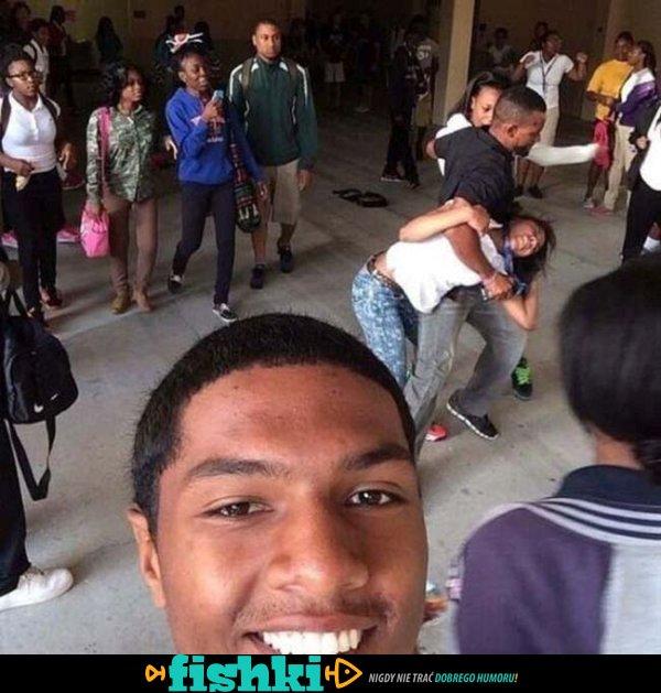 Selfie zrobione w bardzo złym momencie - zdjęcie 1