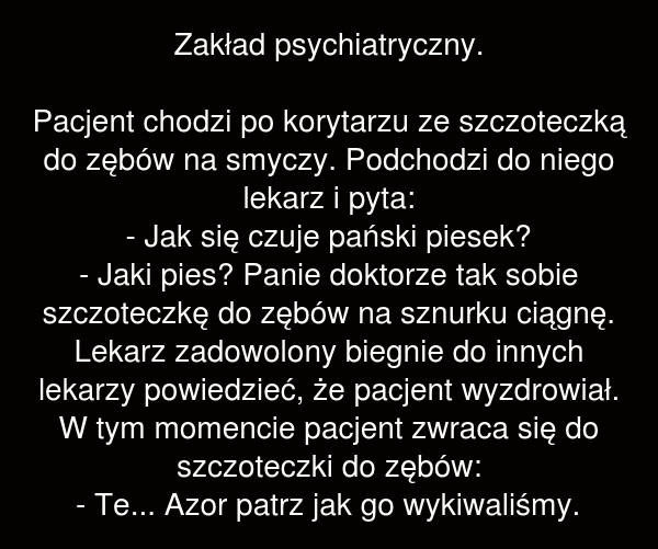 Zakład psychiatryczny.