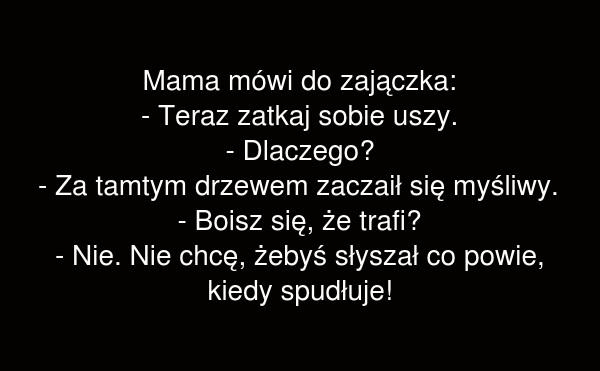 Mama mówi do zajączka
