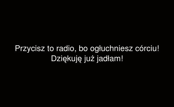Przycisz to radio