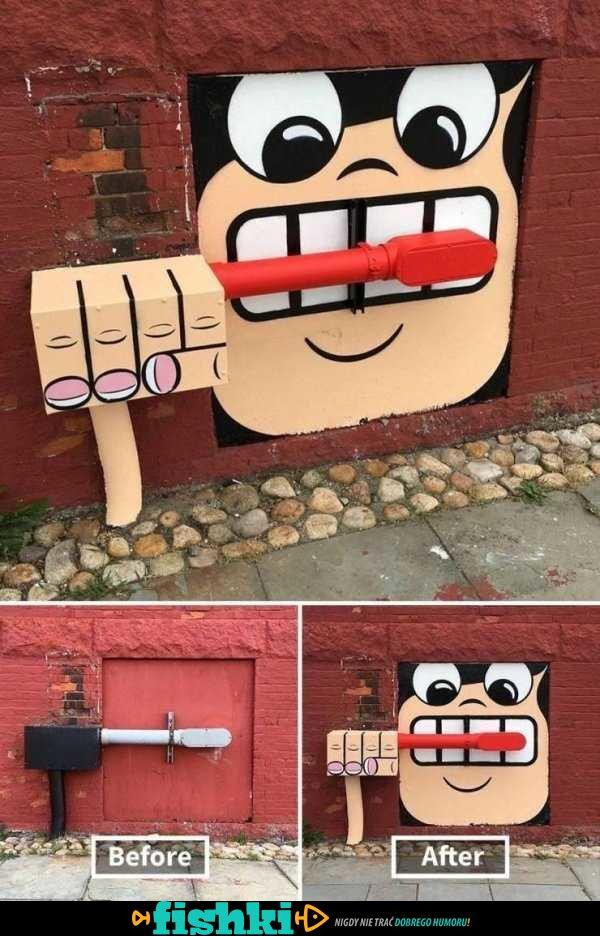 To graffiti jest niesamowite